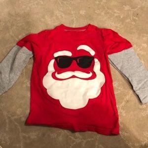 Carter's Santa shirt